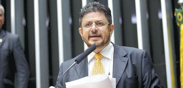 O deputado Fábio Ramalho (PMDB-MG), que foi alçado do baixo clero à vice-presidência da Câmara dos Deputados