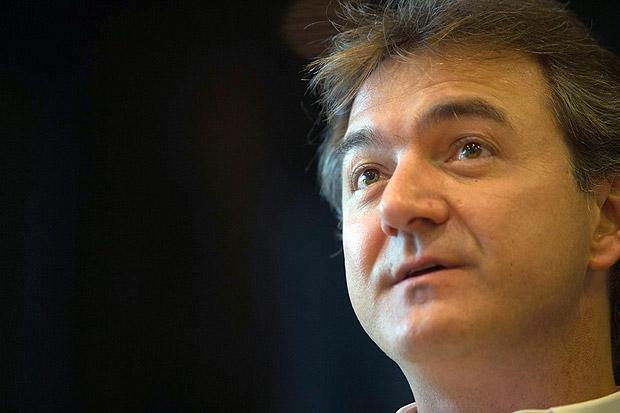 Empresário Joesley Batista, dono da JBS, durante entrevista à Folha na sede da empresa em São Paul