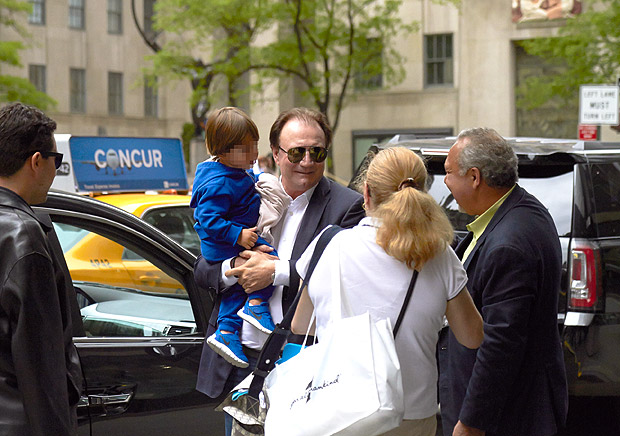 NOVA YORK, NY, EUA, 24-05-2017: Jose Batista Junior, irmao dos empresarios Joesley e Wesley Batista, chega ao edificio onde Joesley tem apartamento em Manhattan. Foto:Folhapress ****EXCLUSIVO FOLHA NAO UTILIZAR SEM AUTORIZACAO DO EDITOR****
