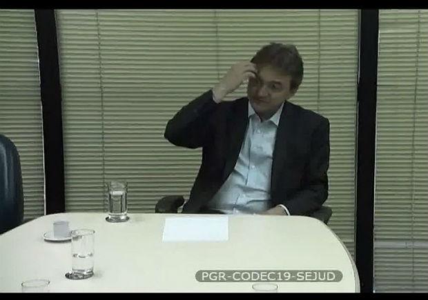 Reprodução do vídeo de depoimento de Joesley Batista à Procuradoria-Geral da República