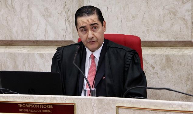 O presidente do TRF (Tribunal Regional Federal) da 4ª Região, Carlos Eduardo Thompson Flores