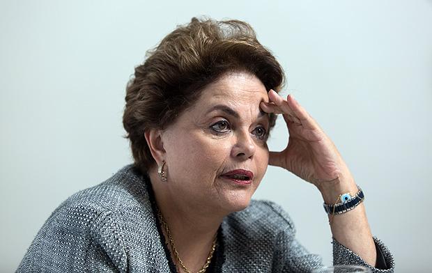 Rio de Janeiro, Rj, BRASIL. 31/08/2017; Entrevista com ex-presidente Dilma Rousseff. ( Foto: Ricardo Borges/Folhapress)