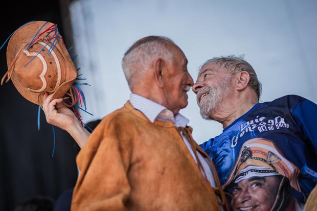PICOS, PI, BRASIL, 02-09-2017: O ex presidente Lula discursa na cidade do Picos. (Foto: Bruno Santos/ Folhapress) *** FSP-PODER *** EXCLUSIVO FOLHA***