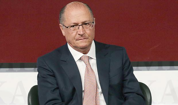 O governador paulista, Geraldo Alckmin (PSDB), em evento nesta quarta (4)