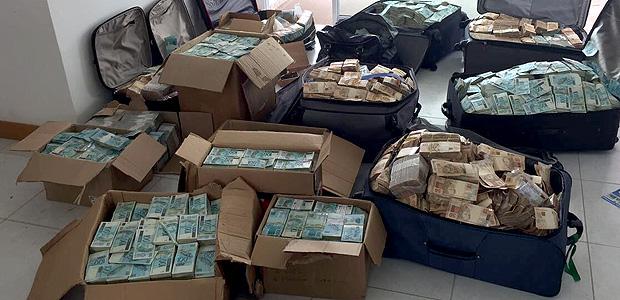 Pol�cia Federal encontra malas de dinheiro em endere�o atribu�do a Geddel Vieira Lima
