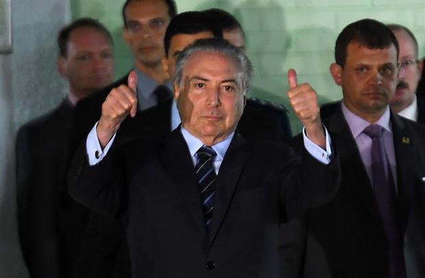 Presidente Michel Temer: Bolsa brasileira teve melhor sequência de alta desde julho de 2016