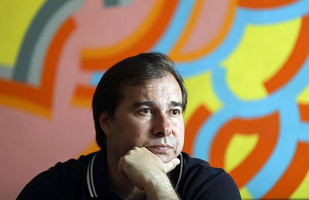 BRASILIA, DF, BRASIL, 26-10-2017, 14h30: Retrato: Presidente da Câmara do Deputados, deputado Rodrigo Maia, durante entrevista exclusiva à Folha. (Foto: Sérgio Lima/Folhapress, PODER) ***EXCLUSIVA***ESPECIAL*** DIREITOS RESERVADOS. NÃO PUBLICAR SEM AUTORIZAÇÃO DO DETENTOR DOS DIREITOS AUTORAIS E DE IMAGEM