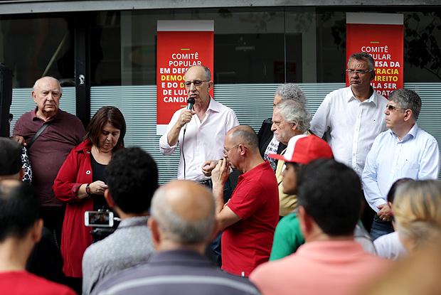 Petistas inauguram Comitê Popular em defesa da Candidatura de Lula em São Paulo