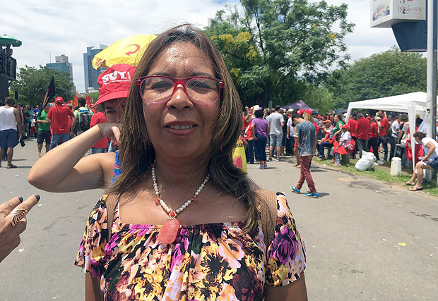 A deputada Mercedes Gutierrez, da Assembleia Constituinte venezuelana, composta integralmente por aliados de Nicolás Maduro
