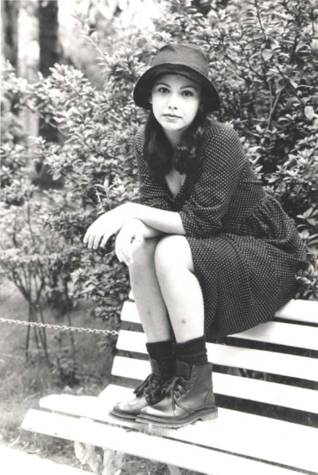 Serafina - Vintage / ontem - Retrato da atriz Debora Falabella