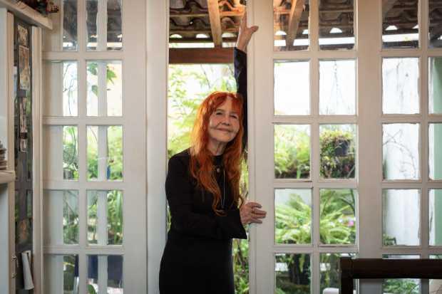 Helena Ignez em sua produtora, em S�o Paulo