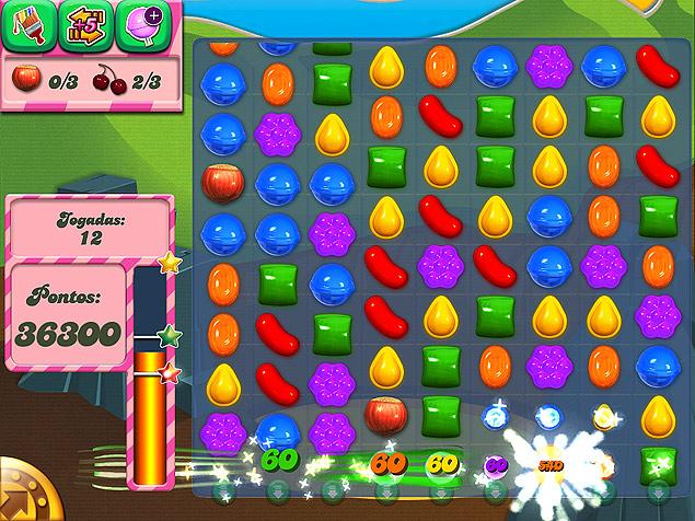 """Game """"Candy Crush"""" tem mais de 50 milhões de usuários e é um dos três aplicativos mais rentáveis de toda a App Store"""