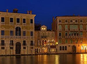 Hotel Al Ponte Antico, na cidade de Veneza, Itália; ele foi o quarto colocado em votação no site britânico TripAdvisor