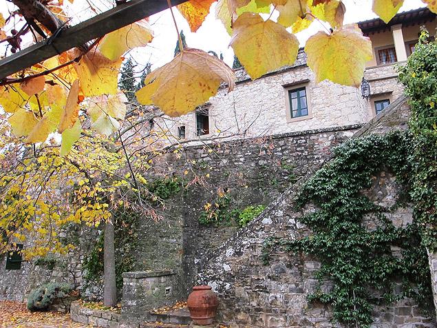 Castelo di Verrazzano produz vinho, mel e outros produtos