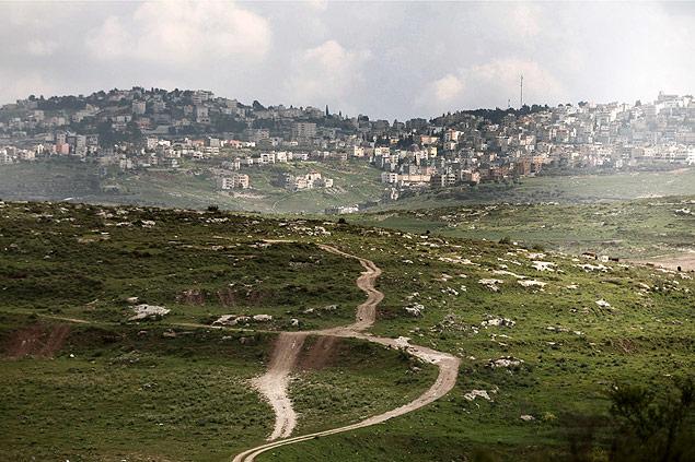 A chamada Trilha de Jesus, na cidade de Nazaré, que virou ponto turístico para evangélicos em Israel