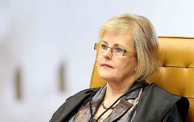 Ministra Rosa Weber em sessão no STF