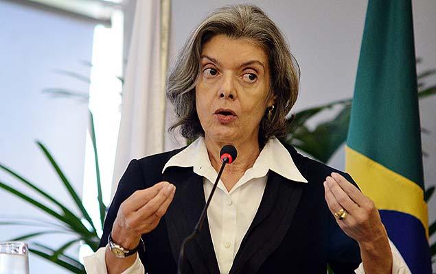 Ministra Cármen Lúcia, vice-presidente do STF