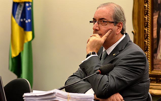 Eduardo Cunha (PMDB-RJ) durante reunião da CCJ da Câmara