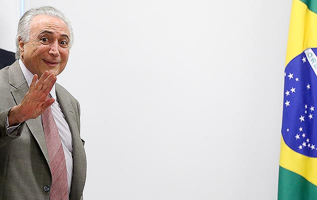 O presidente Michel Temer (PMDB) preside reunião do Camex no Palácio do Planalto, em Brasília (DF), nesta quarta-feira