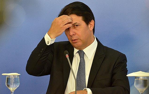 Deputado Arthur Maia, relator da reforma da Previdência, durante entrevista no Planalto, em Brasília, após reunião com o presidente Temer