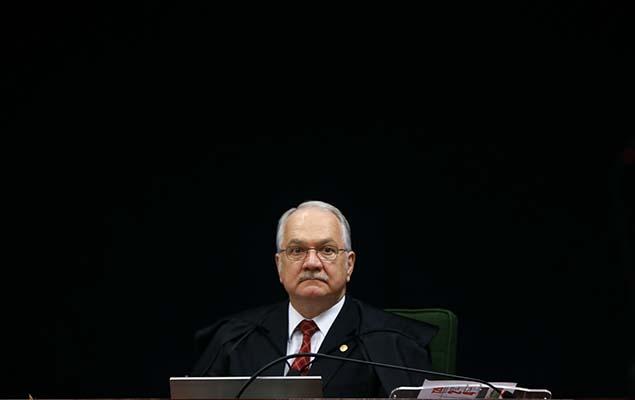 O ministro Edson Fachin, relator Lava Jato