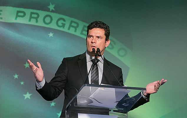 O juiz federal Sergio Moro em debate sobre a autonomia das instituições brasileiras na terça (15)