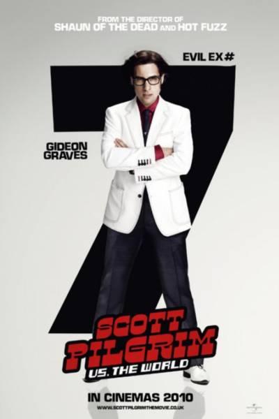 """Os cartazes do filme """"Scott Pilgrim Contra o Mundo"""""""