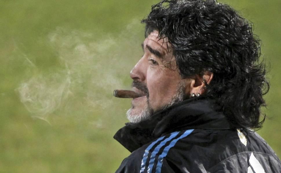 Momento de Maradona na Copa