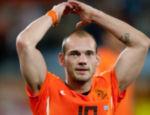 Sneijder comemora a classificação para a final da Copa