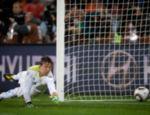 Muslera, do Uruguai não pega chute de Sneijder