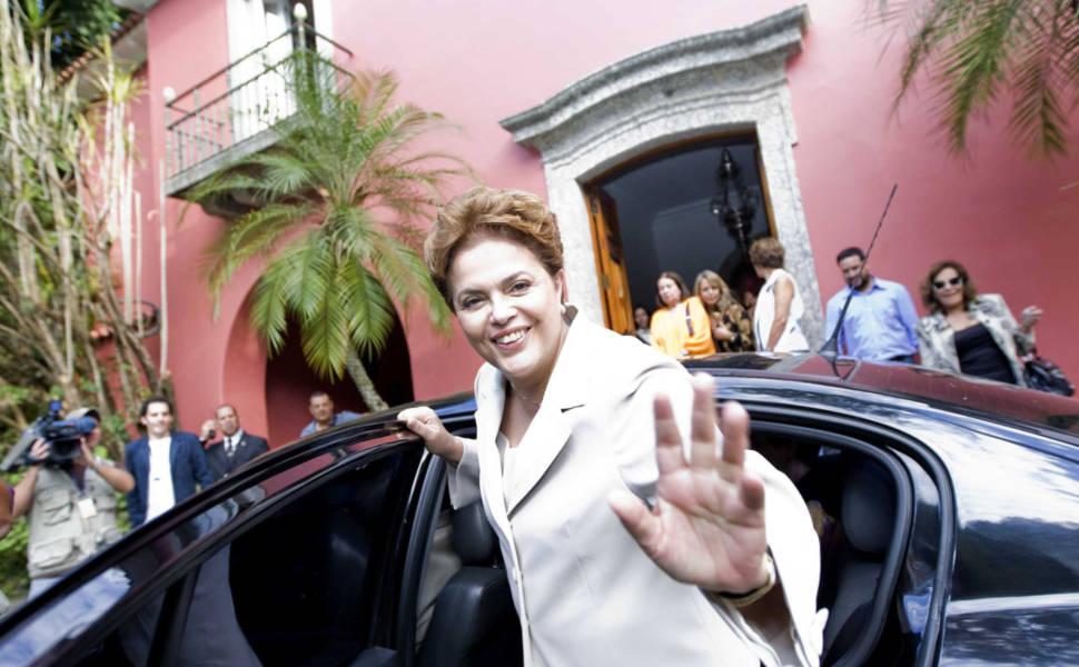 Dilma Rousseff e Lily Marinho