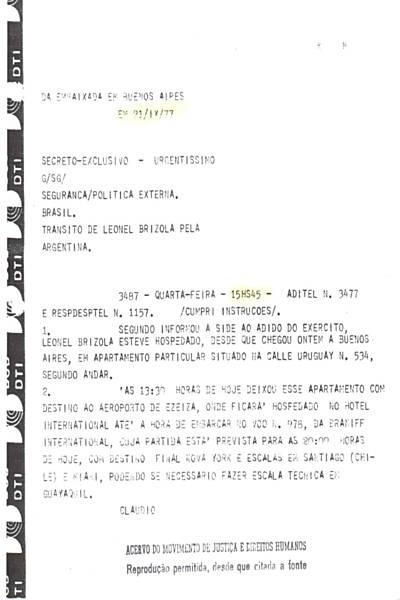 Galeria de fac-similes dos documentos citados na reportagem