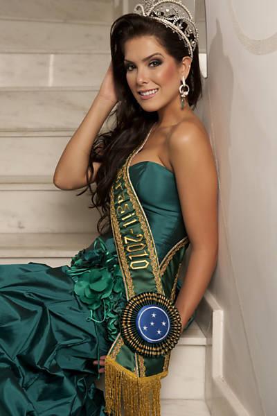 Imagens da Miss Brasil Débora Lyra