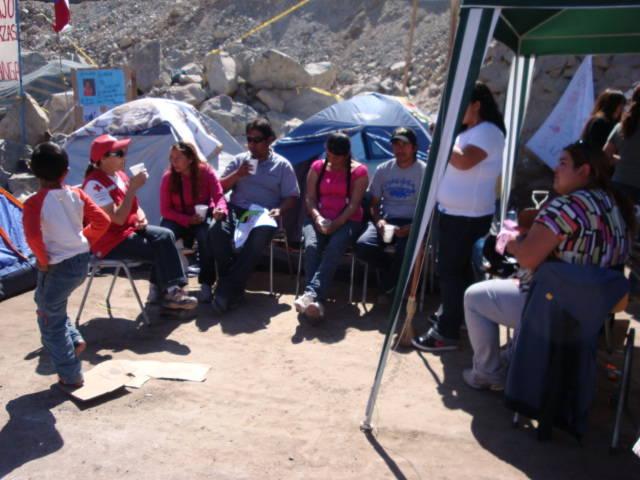 Mineiros presos no Chile