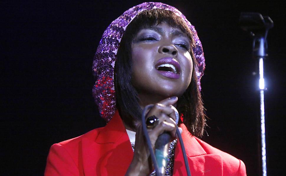 Show de Lauryn Hill no RJ, em 2010