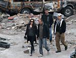 A proibição das filmagens da produção de Angelina Jolie gerou polêmica na Bósnia <a href=