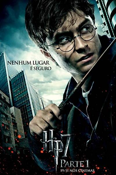 "Novos pôsteres de ""Harry Potter"""