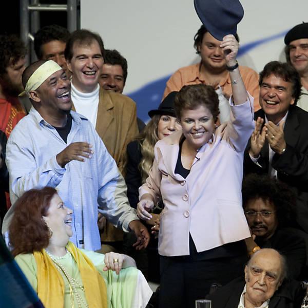 Dilma no segundo turno