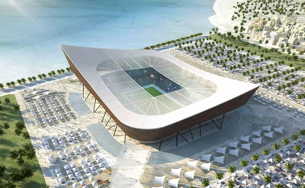 Estádios para Copa de 2022