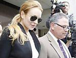 Polícia diz que Lindsay Lohan violou condicional <a href=