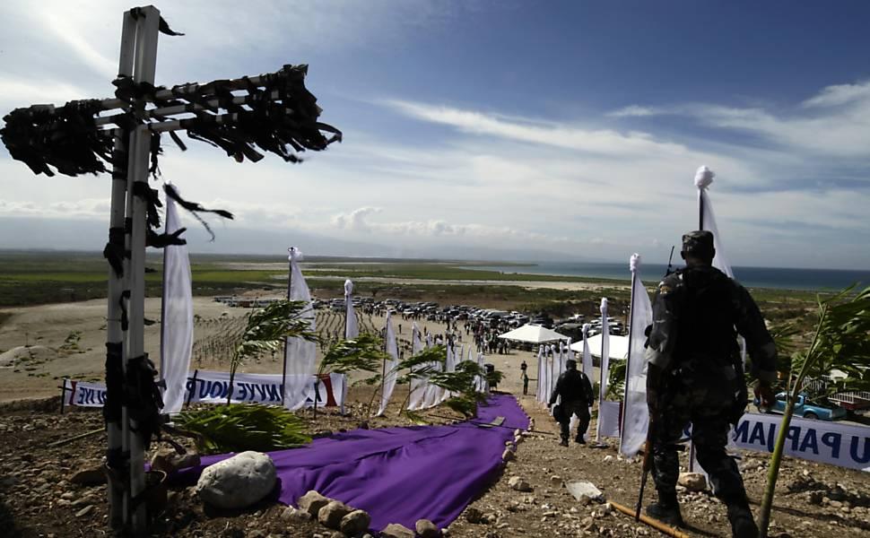 Um ano do terremoto no Haiti