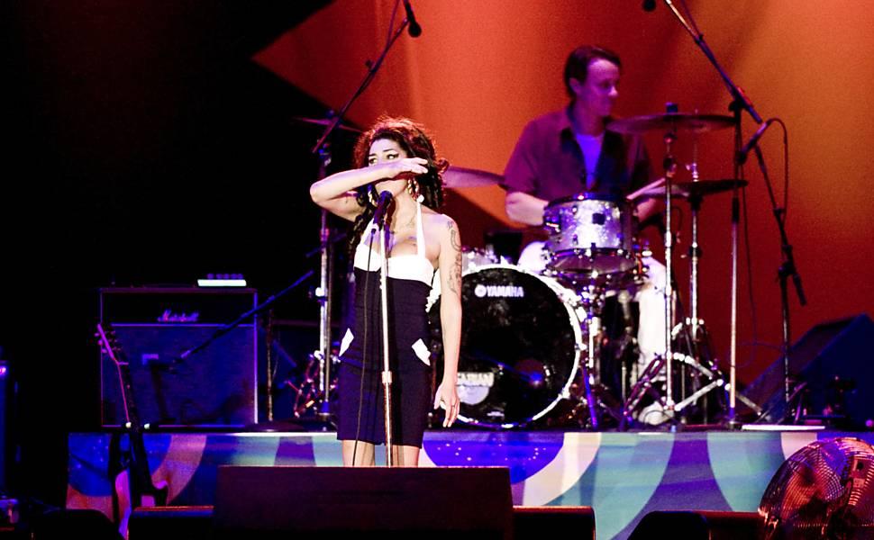 Show da Amy Winehouse em São Paulo