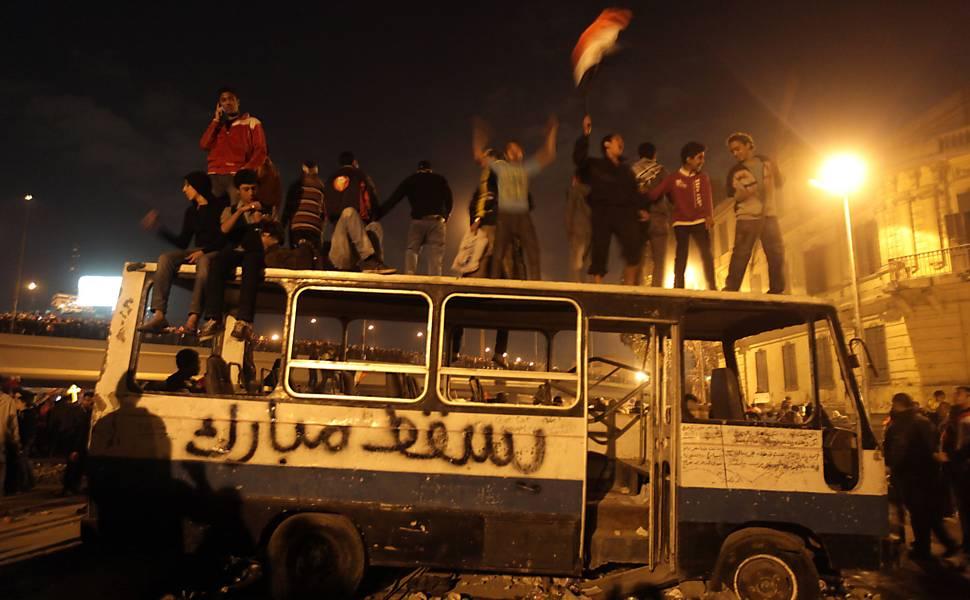 Protestos no Egito