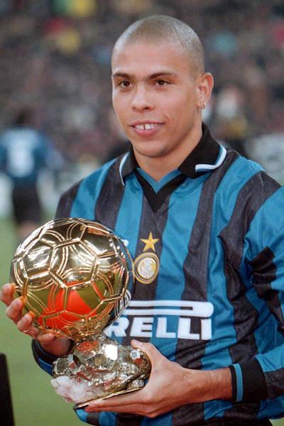 Gols e títulos de Ronaldo