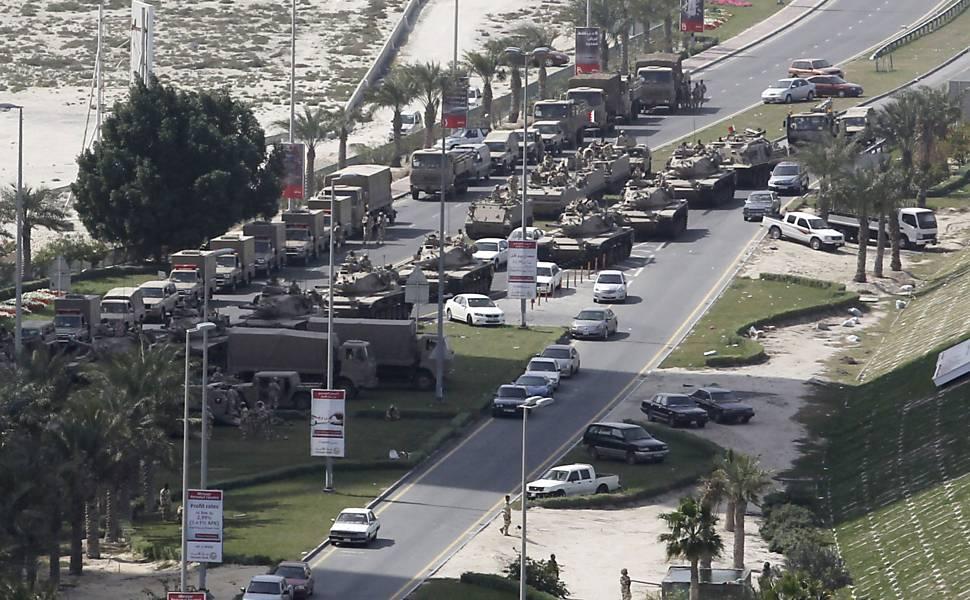 Protestos no Bahrein, em 2011