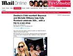 Site publica foto de Beyoncé com Destiny's Child em sex shop <a href=