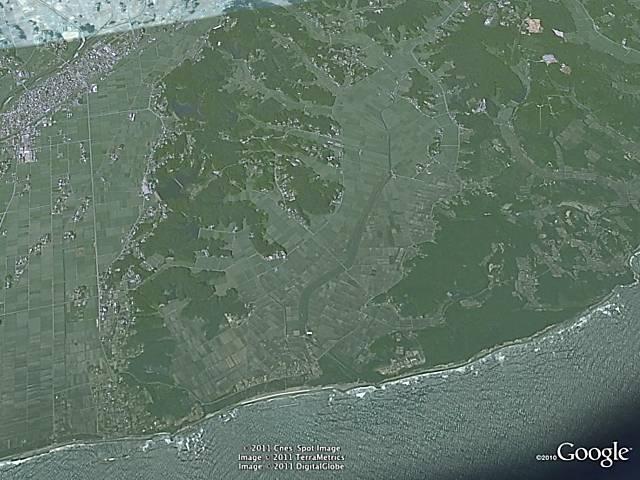 Imagens de satélite mostram devastação no Japão