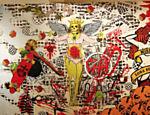 Exposição conta a história do estêncil paulista e homenageia Alex Vallauri, percursor dessa arte no Brasil