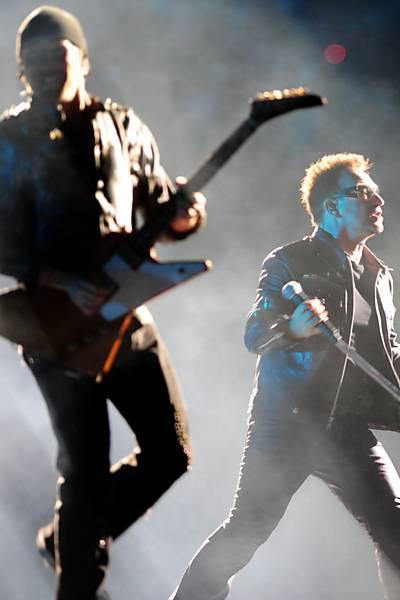 U2 no Chile