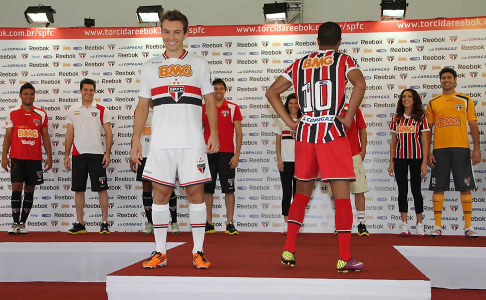 Novo uniforme do São Paulo